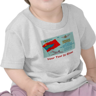 Aeroflot Passenger Ticket Tshirt