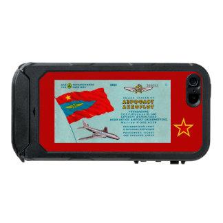 Aeroflot Passenger Ticket Waterproof iPhone SE/5/5s Case