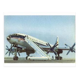 Aeroflot Tu 114 AIRLINER Postcards