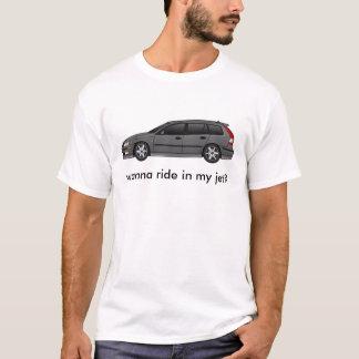 aerokombi_steelgray, wanna ride in my jet? T-Shirt