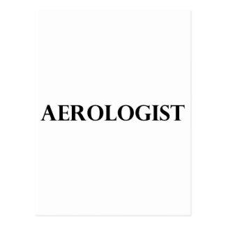 Aerólogo Tarjeta Postal