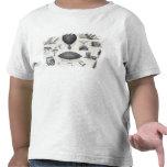 Aeronáutica - máquinas aéreas camiseta