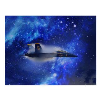 Aeronautical Courage Postcards