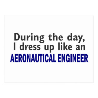 AERONAUTICAL ENGINEER During The Day Postcard