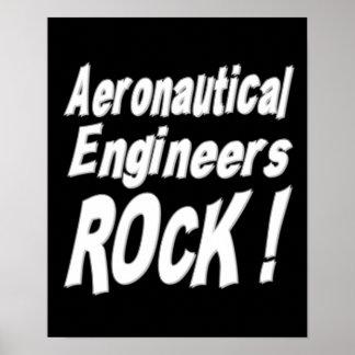 Aeronautical Engineers Rock! Poster Print