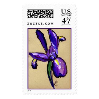 Aeronautical Iris Painting Stamp