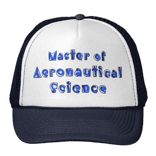 Aeronautical Science Cap
