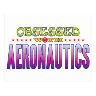 Aeronautics 2 Obsessed Postcards