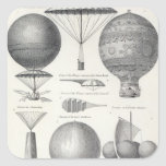 Aeronautics Square Sticker