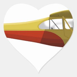 Aeronca 7-AC Champion Heart Sticker
