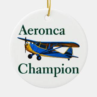 Aeronca Champion Ceramic Ornament