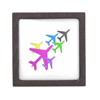AEROPLANE cadeaux pour les enfants flotte d'avion Keepsake Box