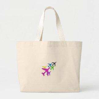 AEROPLANE cadeaux pour les enfants flotte d'avion Large Tote Bag