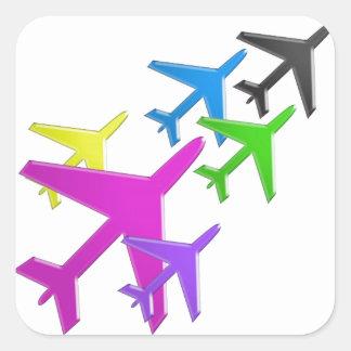 AEROPLANE cadeaux pour les enfants flotte d'avion Sticker