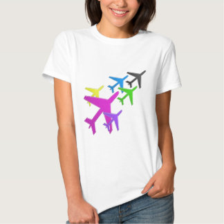 AEROPLANE cadeaux pour les enfants flotte d'avion T-Shirt