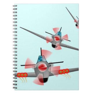 Aeroplane dogfight Children s Notebook