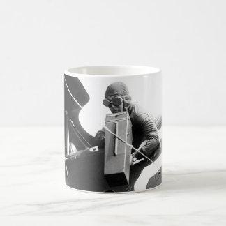 Aeroplane Graflex camera in_War image Coffee Mug