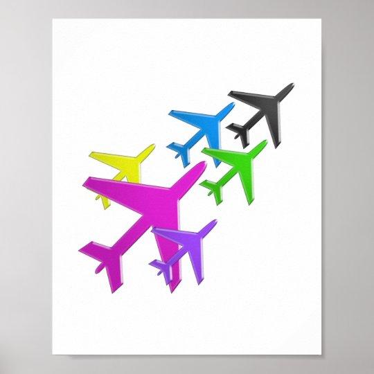 Aeroplane Graphic Decorations Cadeau Pour Tous