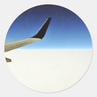 Aeroplane In The Sky Sticker
