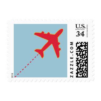 aeroplane postage stamp