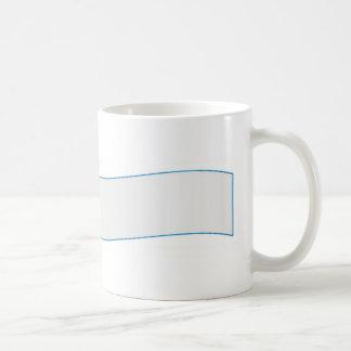 Aeroplane pulling banner mug