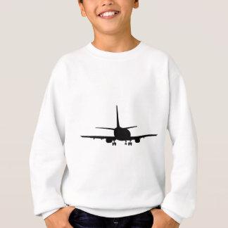 Aeroplane Silhouette, Jet plane Sweatshirt