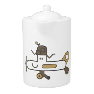 Aeroplane Teapot