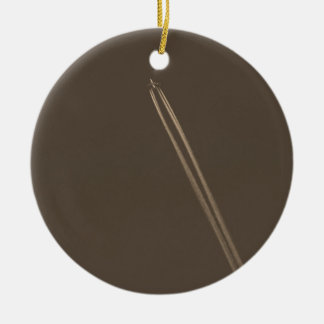 Aeroplane Vapour Trail Ceramic Ornament