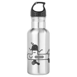 Aeroplane Water Bottle (532 ml), Stainless Steel