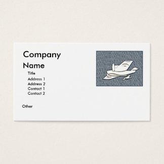 Aeroplanes Business Card