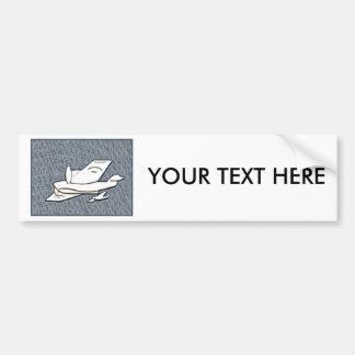 Aeroplanes Car Bumper Sticker