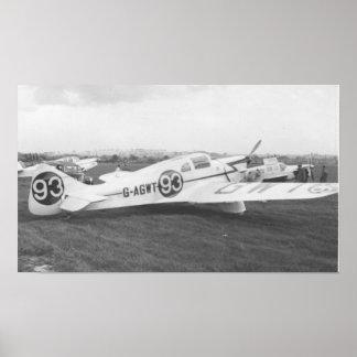 Aeroplano 1953 del Nighthawk Poster