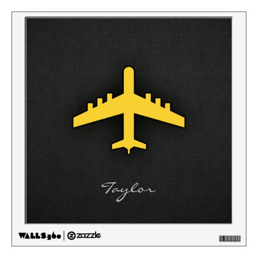 Aeroplano ambarino amarillo