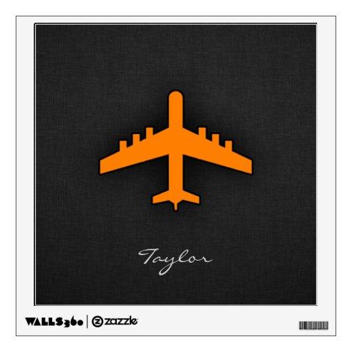 Aeroplano anaranjado