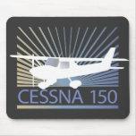 Aeroplano de Cessna 150 Alfombrillas De Raton