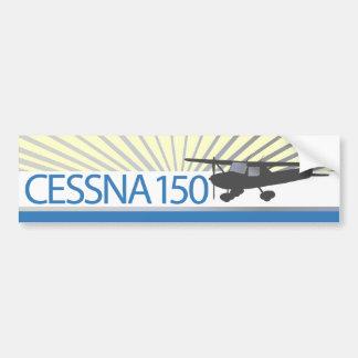 Aeroplano de Cessna 150 Pegatina De Parachoque