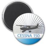 Aeroplano de Cessna 150 Imán De Frigorífico