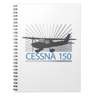 Aeroplano de Cessna 150 Libros De Apuntes