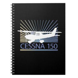 Aeroplano de Cessna 150 Libro De Apuntes