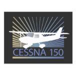 Aeroplano de Cessna 150 Tarjeta Postal
