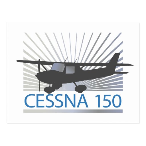 Aeroplano de Cessna 150 Tarjetas Postales