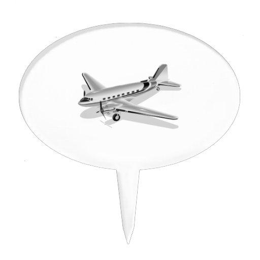 Aeroplano de Douglas DC-3 Decoraciones Para Tartas