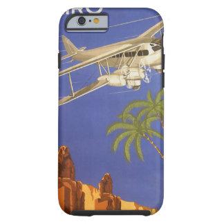 Aeroplano de El Cairo Egipto África del viaje del Funda Para iPhone 6 Tough