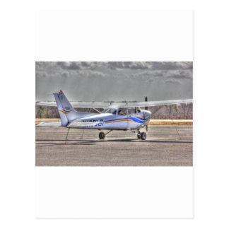 Aeroplano de HDR que señala la diagonal derecha de Tarjetas Postales