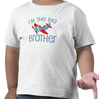 Aeroplano de hermano mayor camiseta