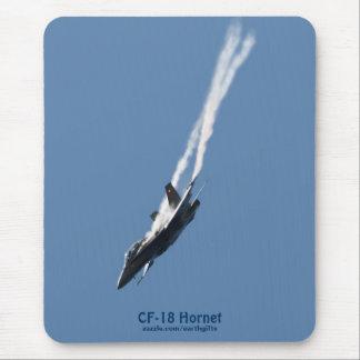 Aeroplano de la caza a reacción del avispón CF-18 Alfombrilla De Raton