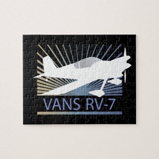 Aeroplano de las furgonetas RV-7 Puzzles Con Fotos