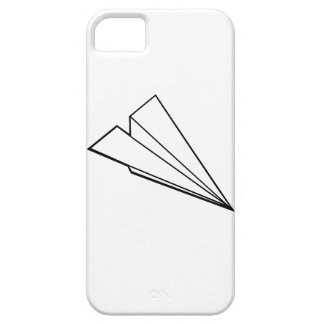 Aeroplano de papel funda para iPhone 5 barely there