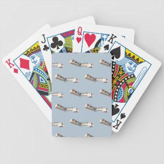 Aeroplano de Santos-Dumont 14-Bis Baraja Cartas De Poker