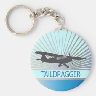 Aeroplano de Taildragger Llaveros